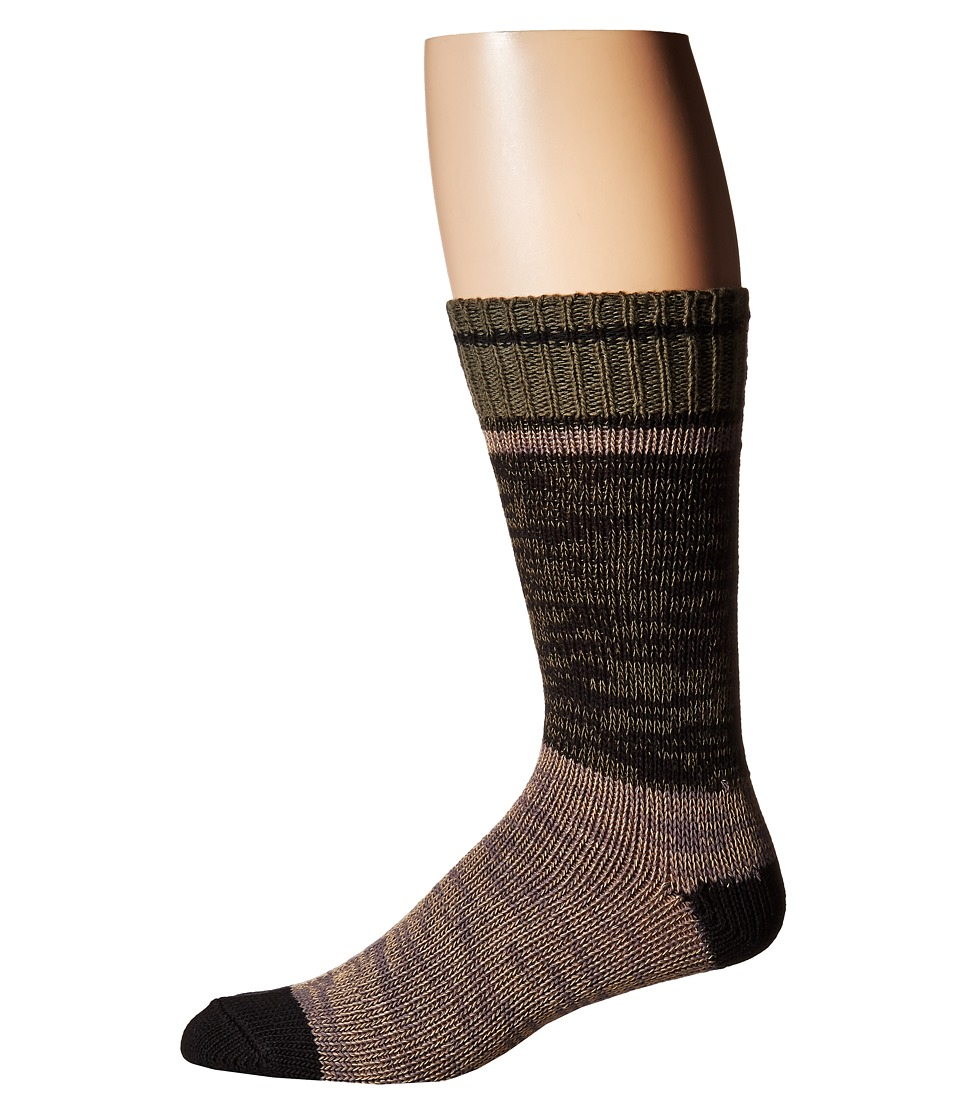 Cole Haan - Cabin Crew (Fatigue Mix) Men's Crew Cut Socks Shoes