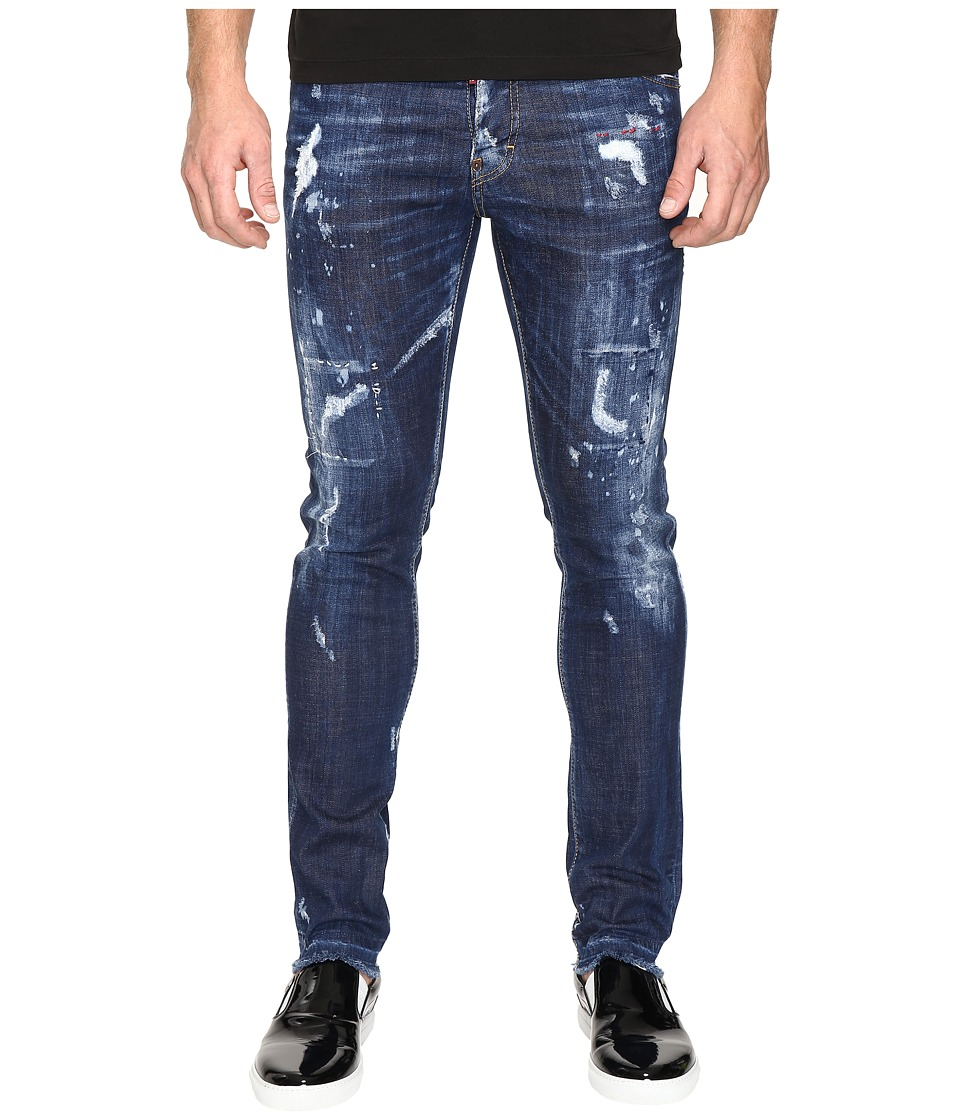 DSQUARED2 - Cool Guy American Pie Jeans in Blue (Blue) Men's Jeans