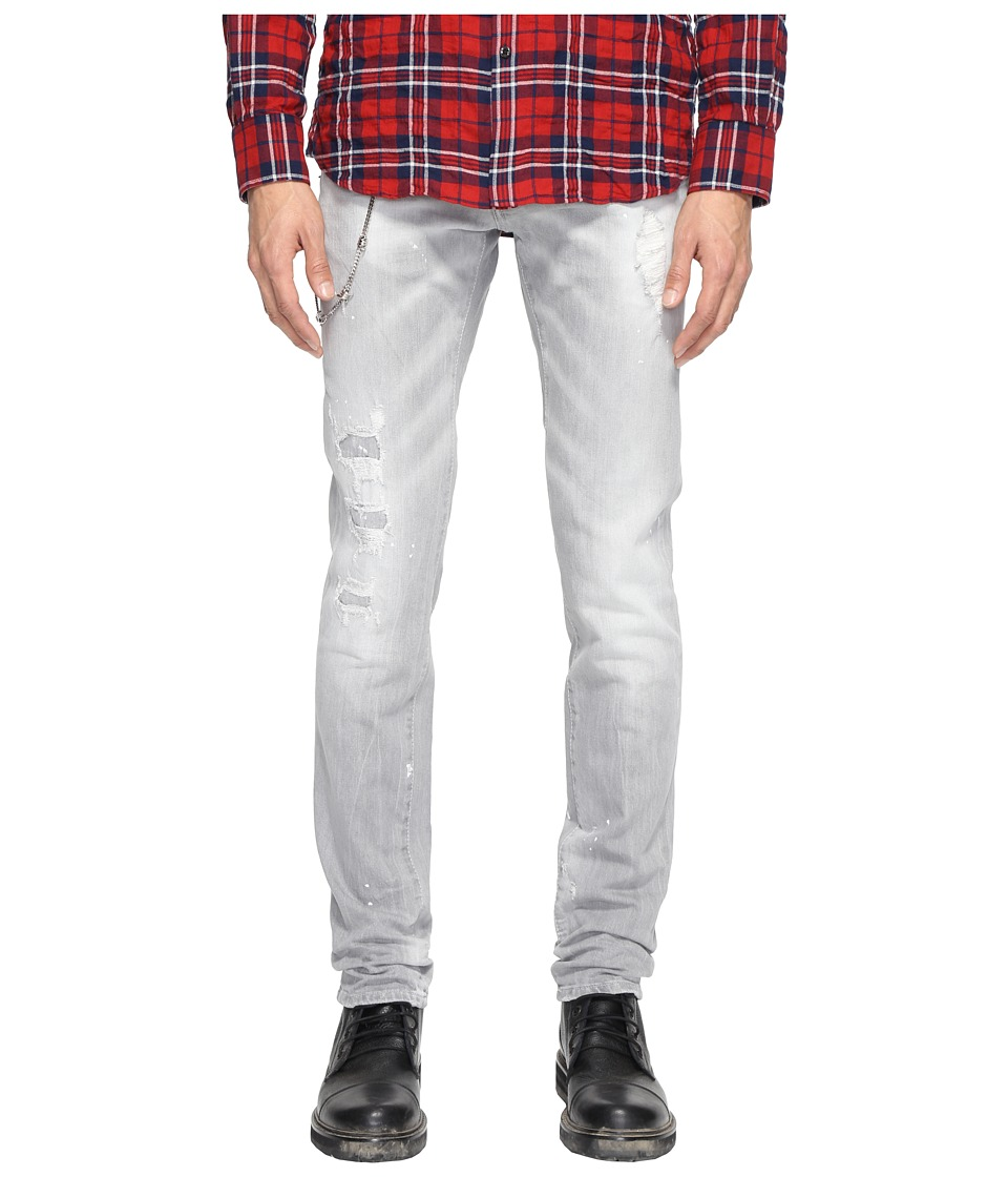 DSQUARED2 - Slim Jeans in Grey (Grey) Men's Jeans
