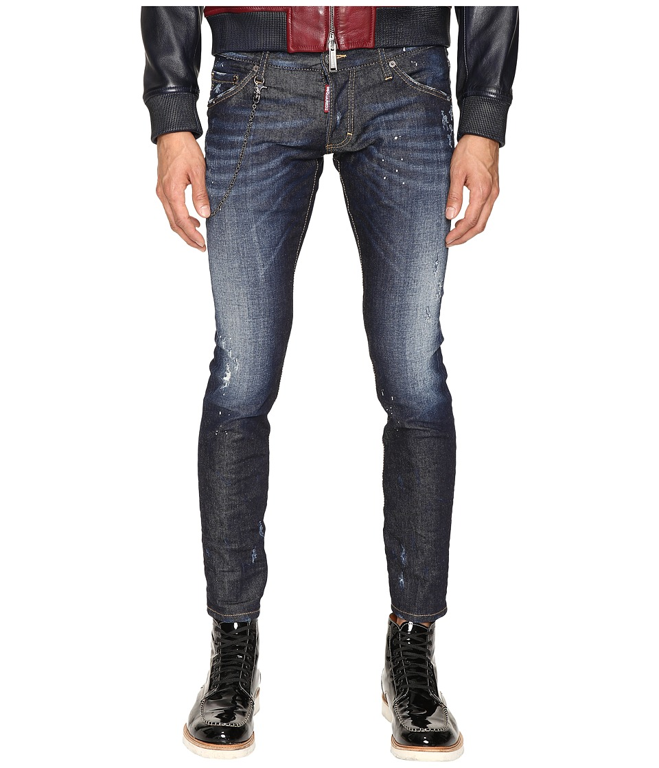 DSQUARED2 - Clement Easy Everyday Jeans in Blue (Blue) Men's Jeans