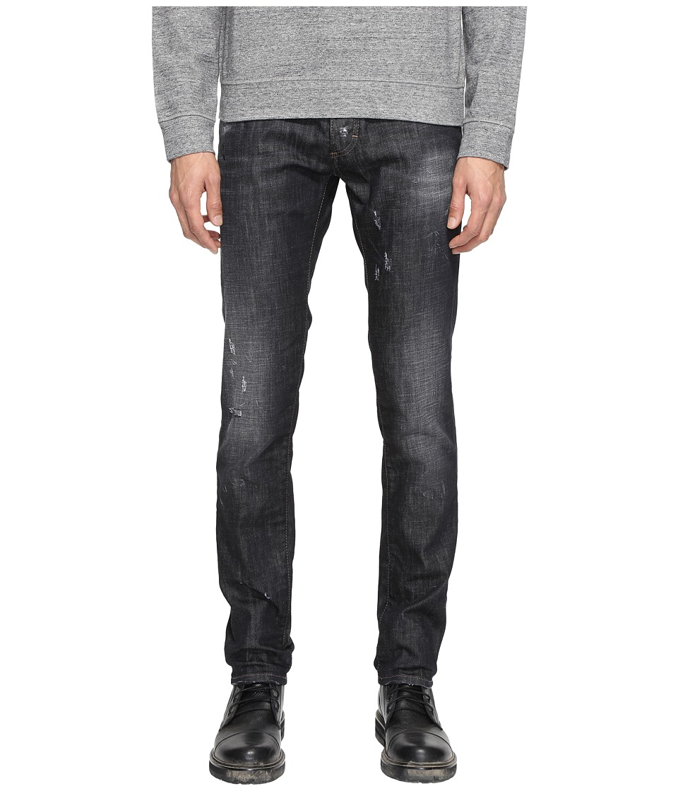 DSQUARED2 - Slim Jeans in Black (Black) Men's Jeans