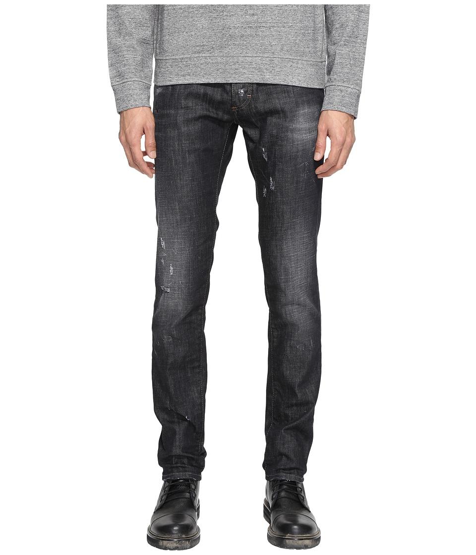 DSQUARED2 - Slim Jeans in Black (Black) Men's Jeans