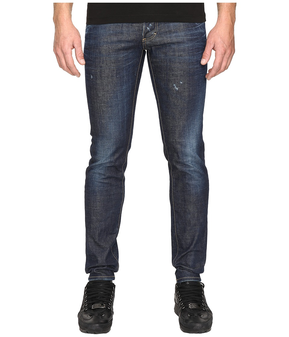 DSQUARED2 - Slim Stoner Wash Jeans in Blue (Blue) Men's Jeans