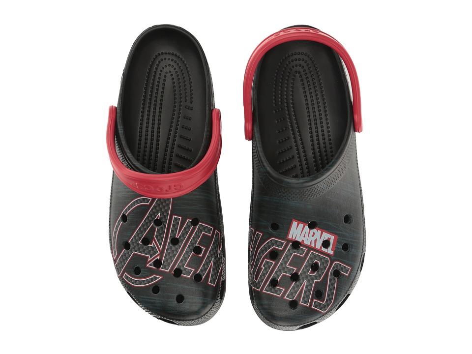 Crocs - Classic Avengers Clog (Multi) Clog/Mule Shoes