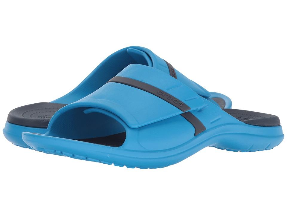 Crocs - MODI Sport Slide (Ocean/Navy) Slide Shoes