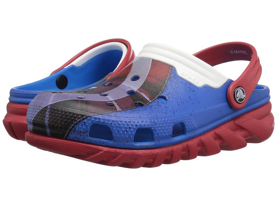 Crocs - Duet Max Captain America Clog (Multi) Clog/Mule Shoes