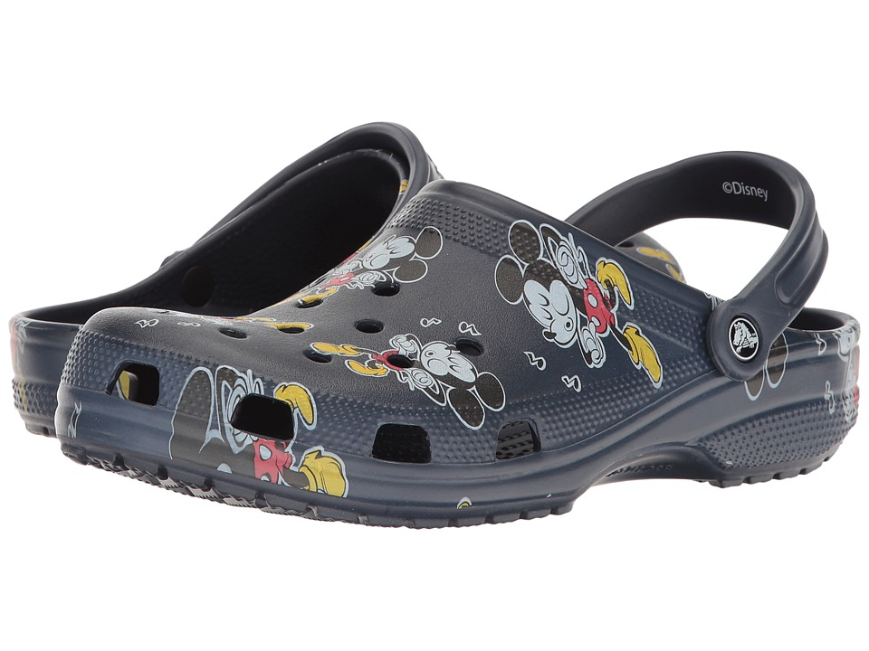 Crocs - Classic Mickey Clog (Multi) Clog/Mule Shoes