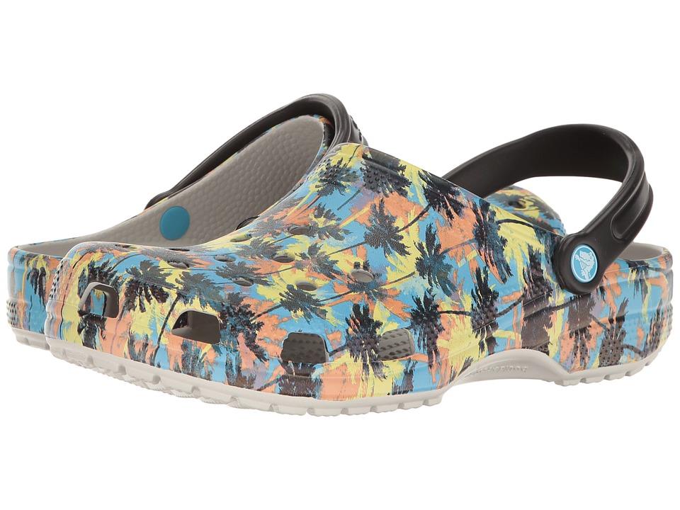 Crocs Classic Tropics Clog (Pearl White) Clog/Mule Shoes