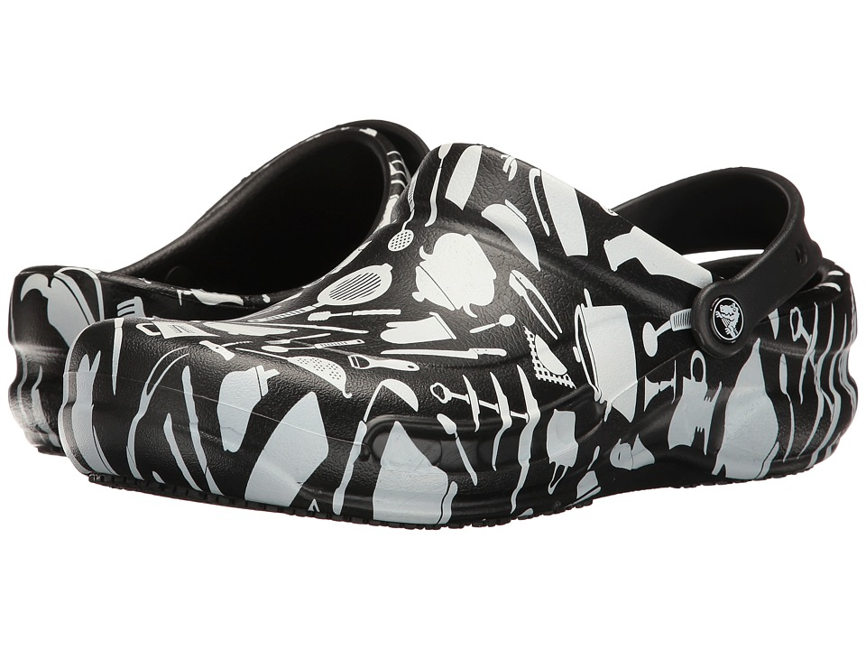 Crocs - Bistro Graphic Clog (Multi) Clog/Mule Shoes