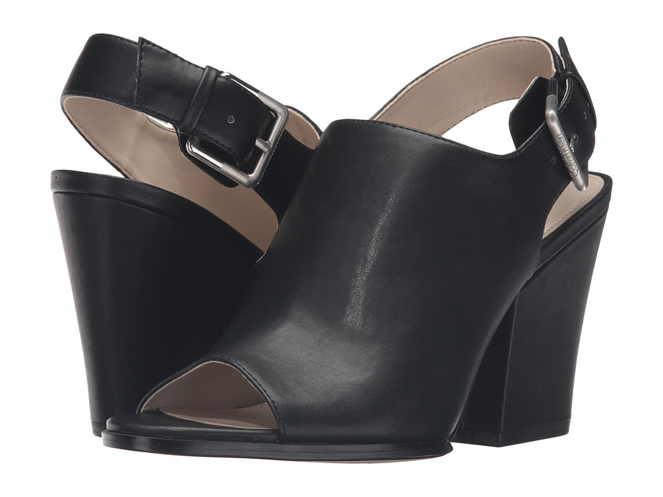 Calvin Klein - Wilmet (Black Leather) Women's Shoes