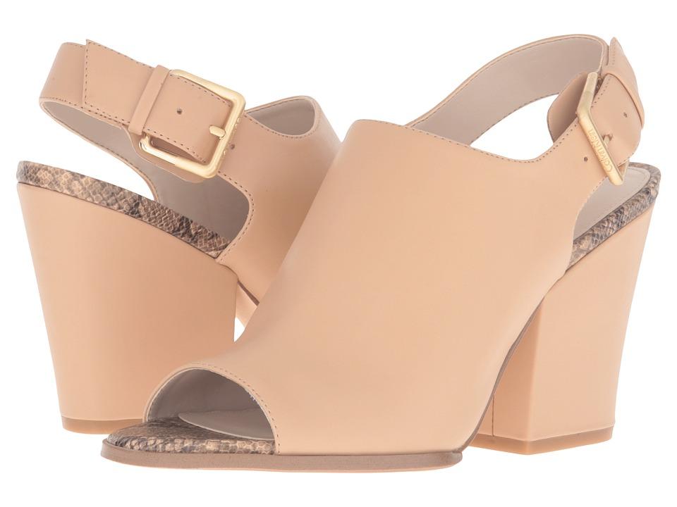 Calvin Klein - Wilmet (Sandstorm Leather) Women's Shoes