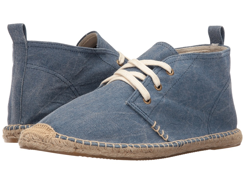 Soludos - Desert Boot (Blue) Men's Boots