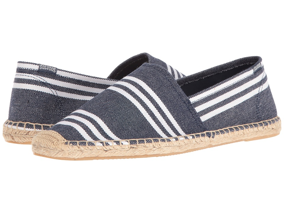Soludos - Original Stripe (Navy/White) Men's Shoes