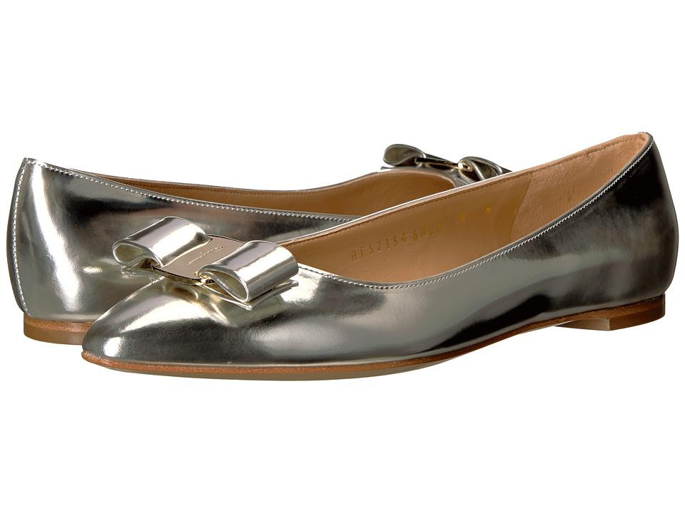 Salvatore Ferragamo - Emy 1 (Butter/Oro New Helmut) Women's Flat Shoes