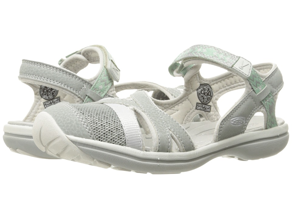 Keen - Sage Ankle (Neutral Gray/Malachite) Women's Shoes
