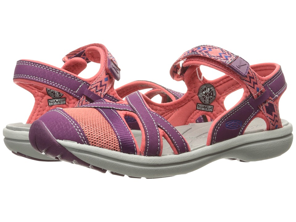 Keen - Sage Ankle (Dark Purple/Deep Coral) Women's Shoes