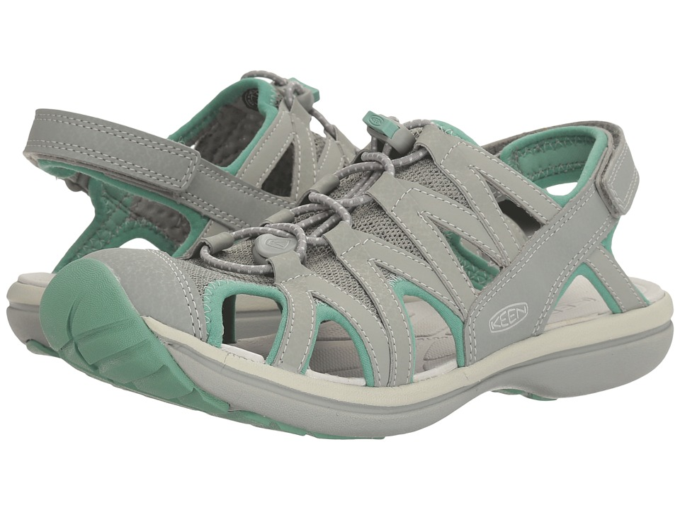 Keen - Sage Sandal (Neutral Gray/Malachite) Women's Sandals