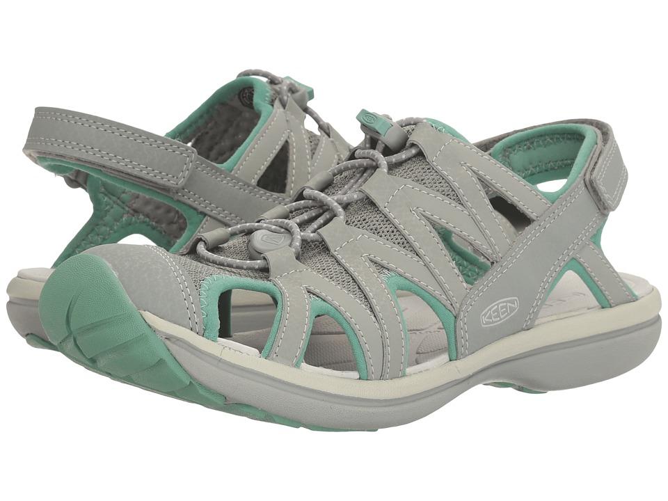 Keen Sage Sandal (Neutral Gray/Malachite) Women