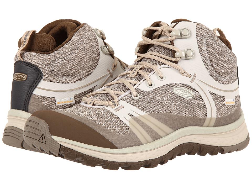 Keen - Terradora Mid Waterproof (Silver Birch/Canteen) Women's Shoes