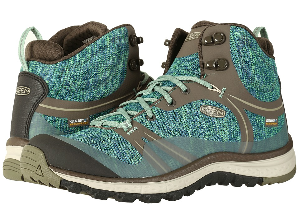 Keen - Terradora Mid Waterproof (Bungee Cord/Malachite) Women's Shoes