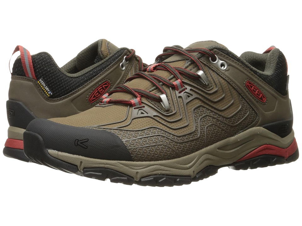 Keen Aphlex Waterproof (Black Olive/Bossa Nova) Men