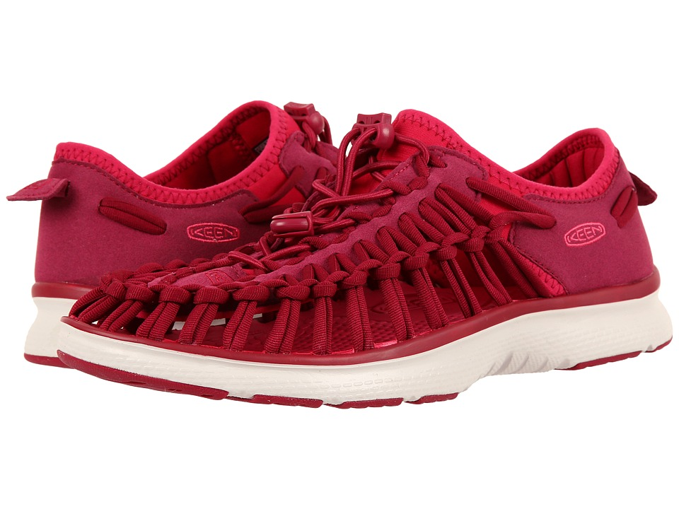 Keen - Uneek O2 (Anemone/Bright Rose) Women's Shoes