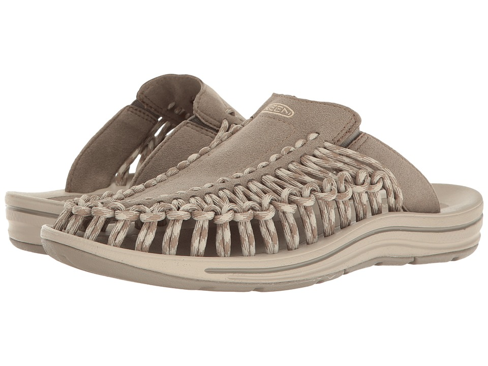 Keen - Uneek Slide (Brindle/Feather Gray) Women's Shoes