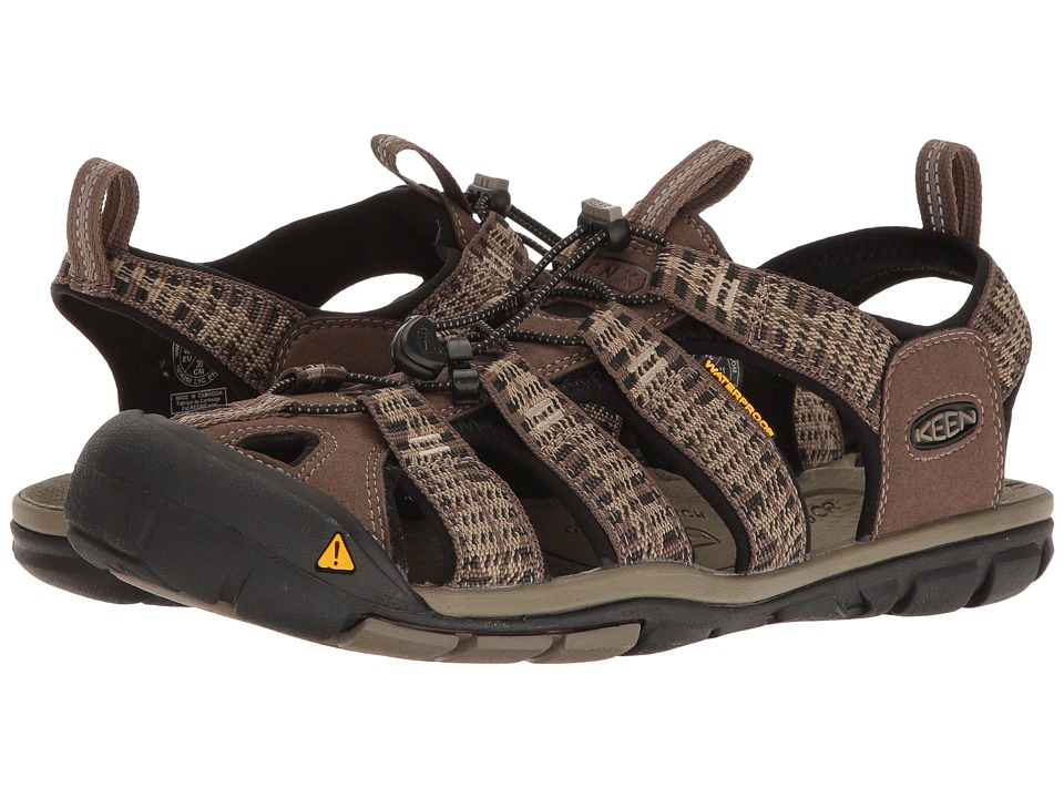 Keen - Clearwater CNX (Canteen/Brindle) Men's Shoes