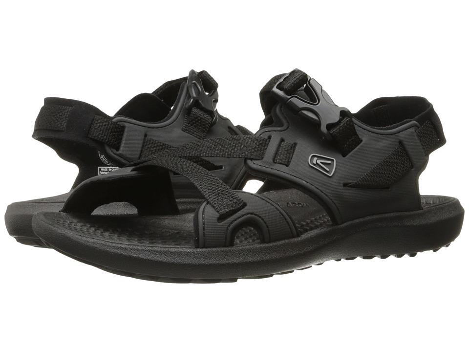Keen - Maupin (Black/Black) Men's Shoes
