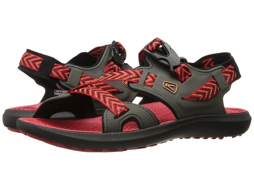Keen - Maupin (Black Olive/Nasturtium) Men's Shoes
