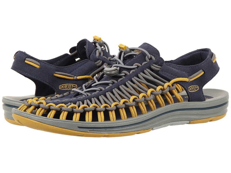 Keen - Uneek (Midnight Navy/Bronze Mist) Men's Shoes
