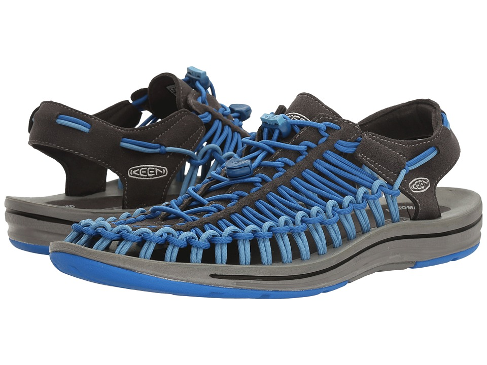 Keen - Uneek (Raven/Imperial Blue) Men's Shoes