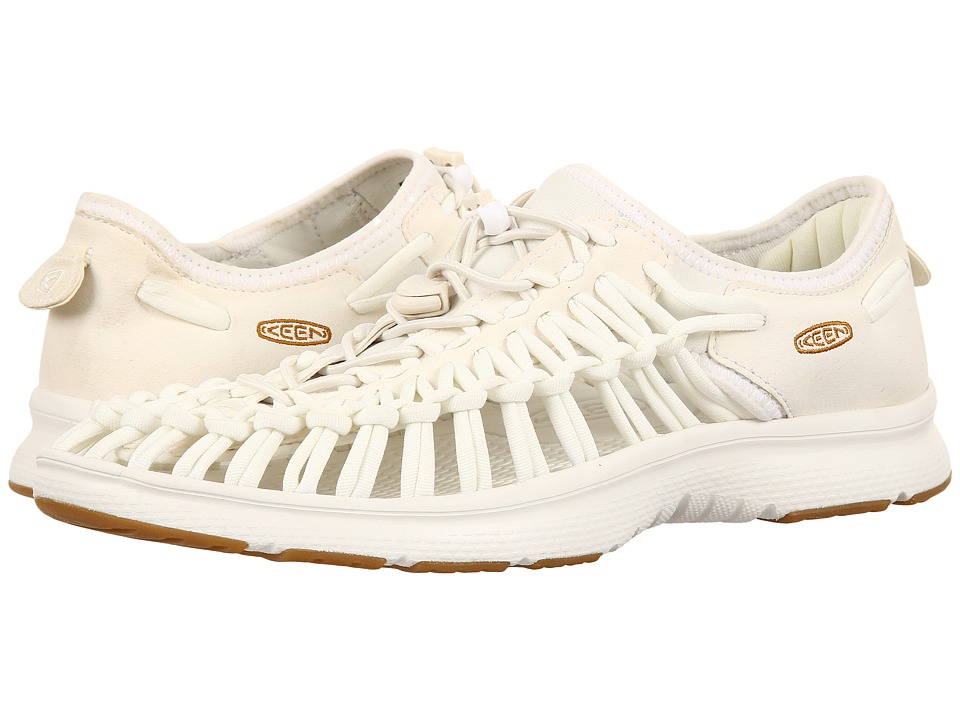 Keen - Uneek O2 (White/Harvest Gold) Men's Shoes