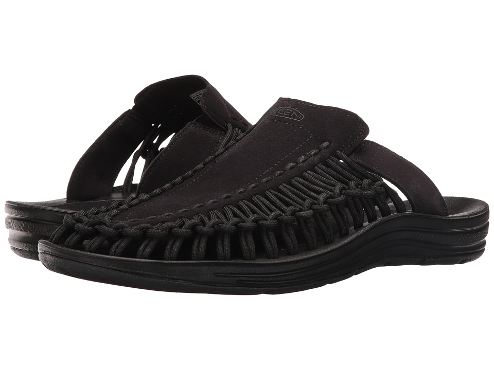 Keen - Uneek Slide (Black/Black) Men's Sandals