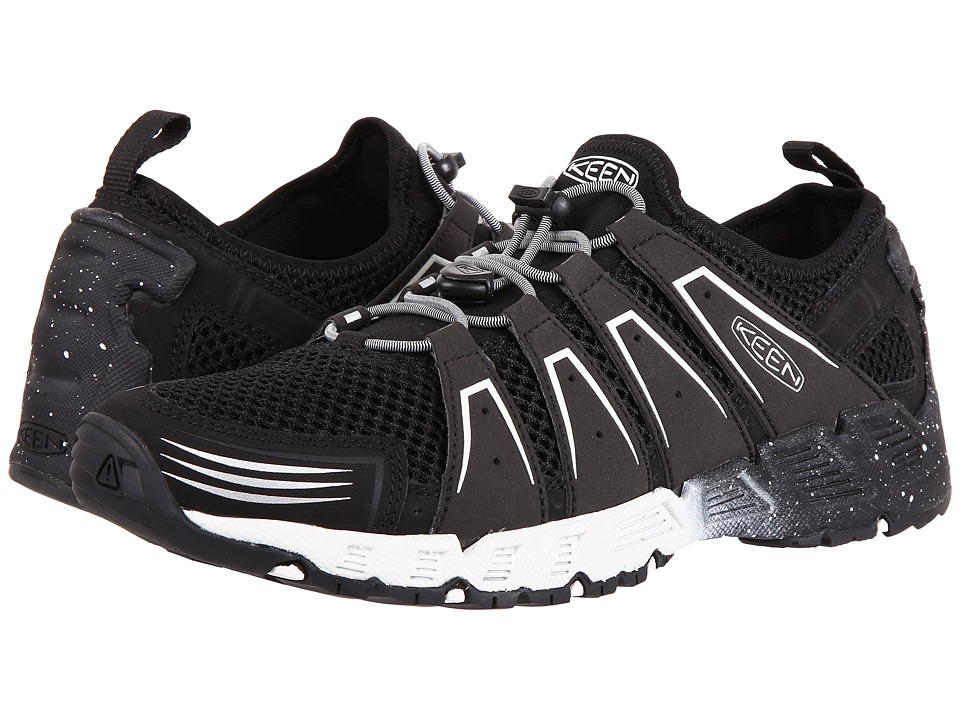 Keen - Versavent (Black/Star White) Men's Shoes