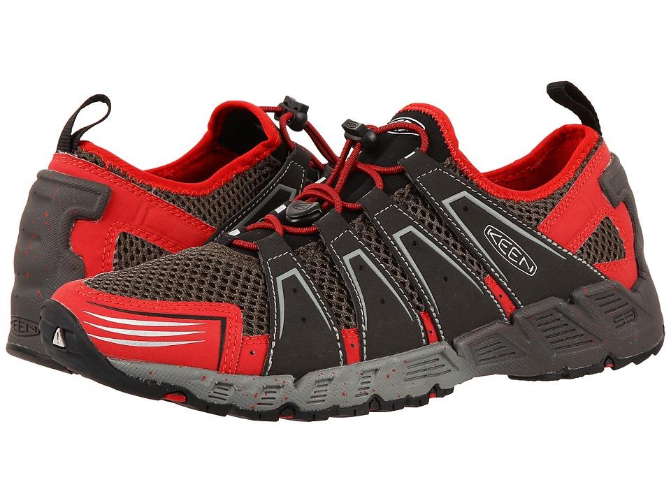Keen - Versavent (Black Olive/Formula One) Men's Shoes