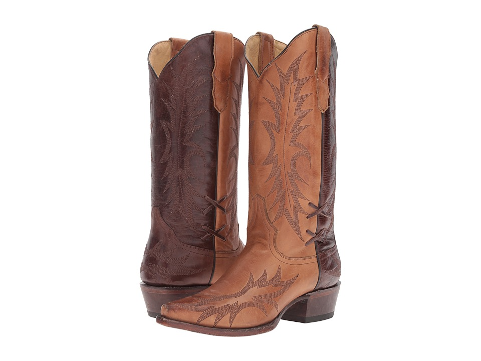 Stetson - Quinn (Sorrel Brown Burnished) Cowboy Boots