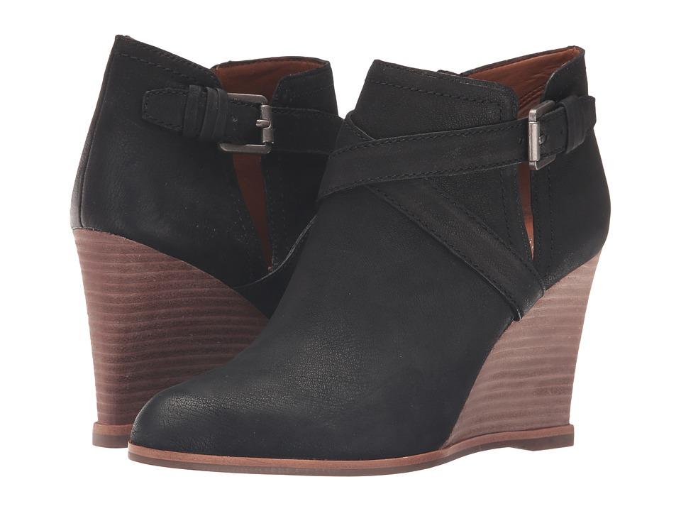 Franco Sarto - Norfolk (Black Leather) Women's Shoes