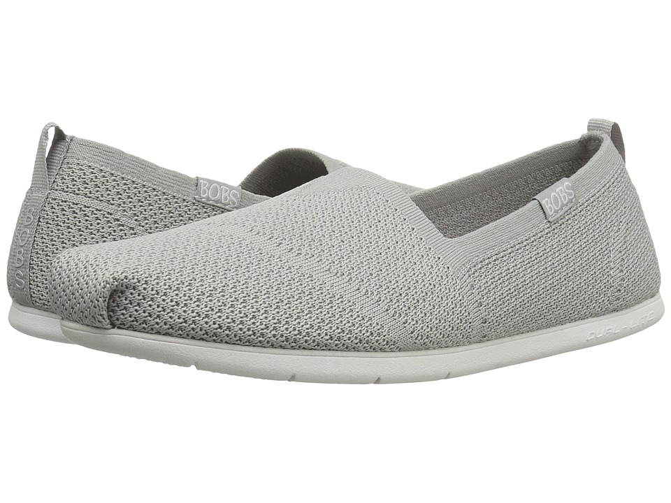 BOBS from SKECHERS - Plush Lite - Custom-Built (Gray) Women's Shoes