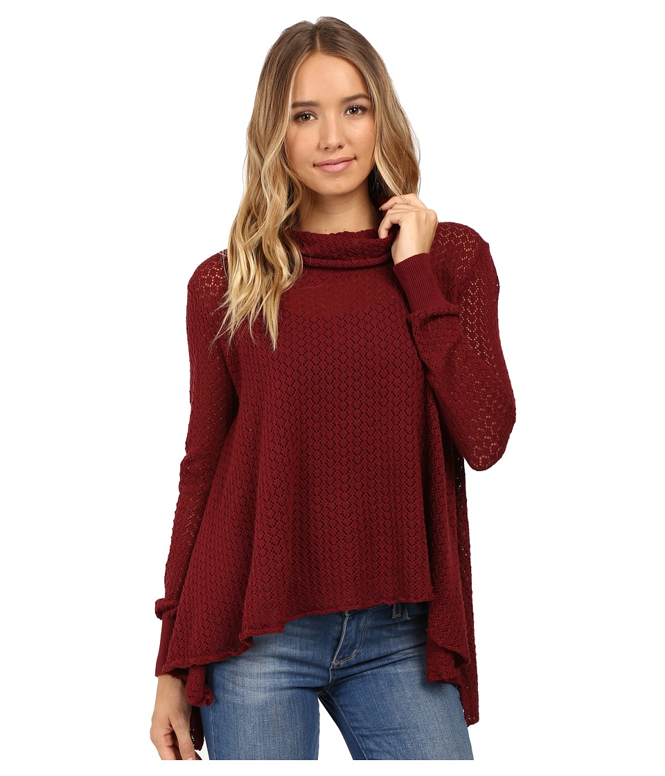 O'Neill - Clemens Pullover (Ruby Wine) Women's Long Sleeve Pullover