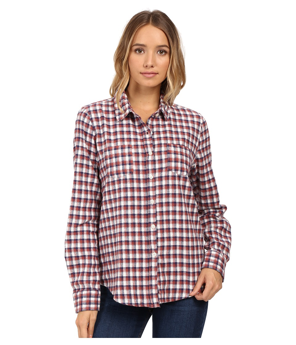 O'Neill - Freestyle Top (Naked) Women's Long Sleeve Button Up