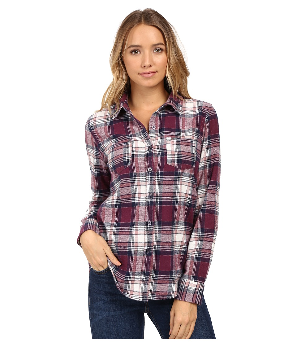 O'Neill - Freestyle Top (Total Eclipse) Women's Long Sleeve Button Up