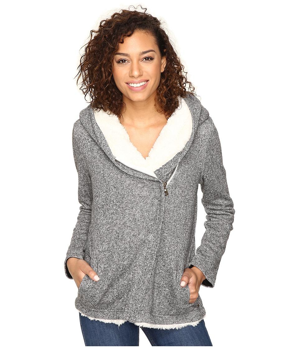O'Neill - Crestline Hoodie (Heather Black) Women's Sweatshirt