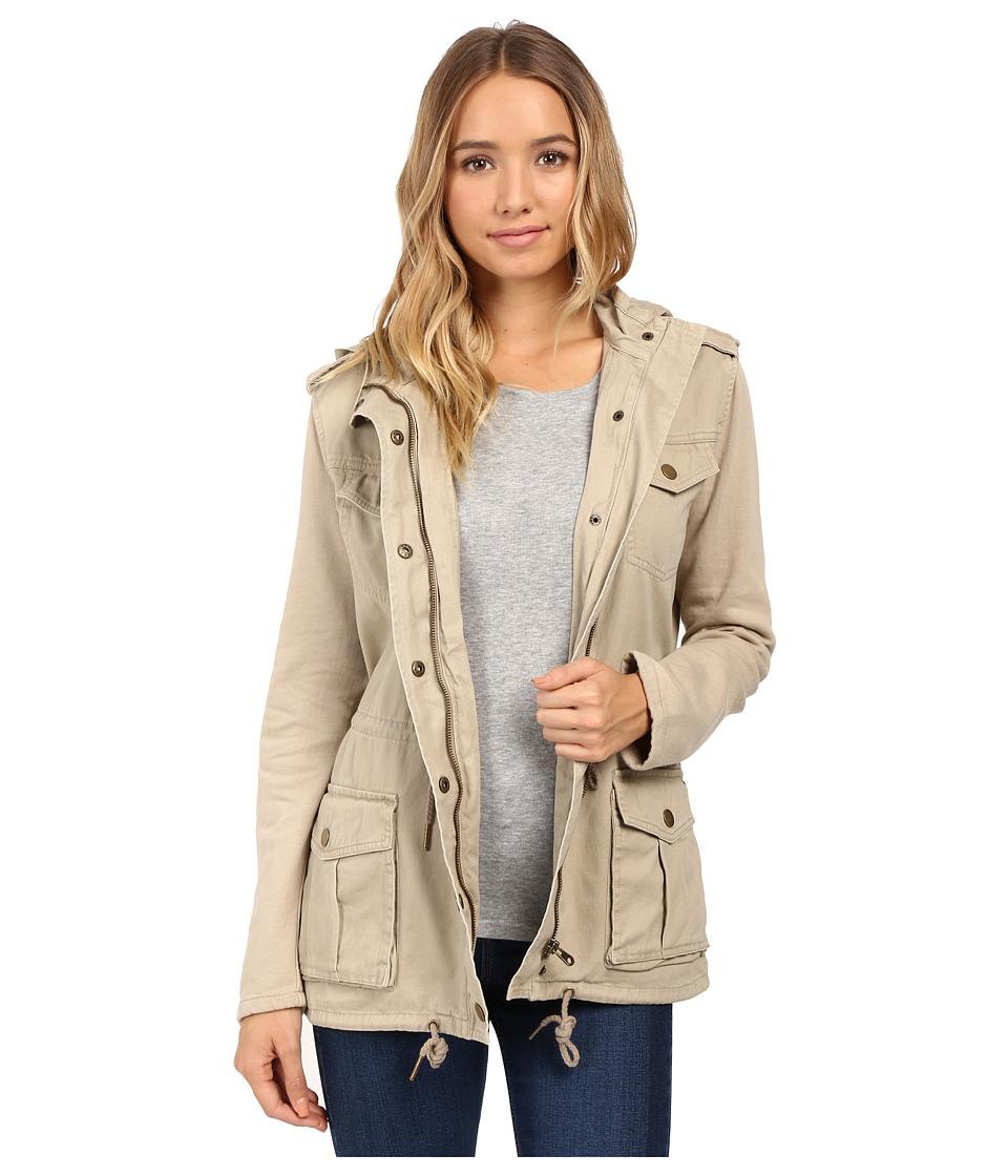 O'Neill - Zelda Jacket (Tan) Women's Coat