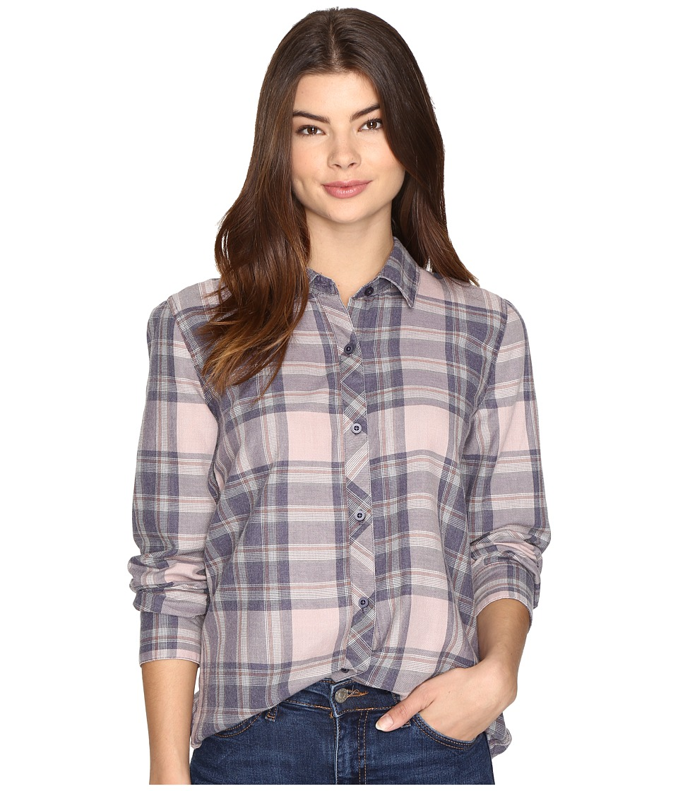 O'Neill - Birdie Top (Graystone) Women's Long Sleeve Button Up