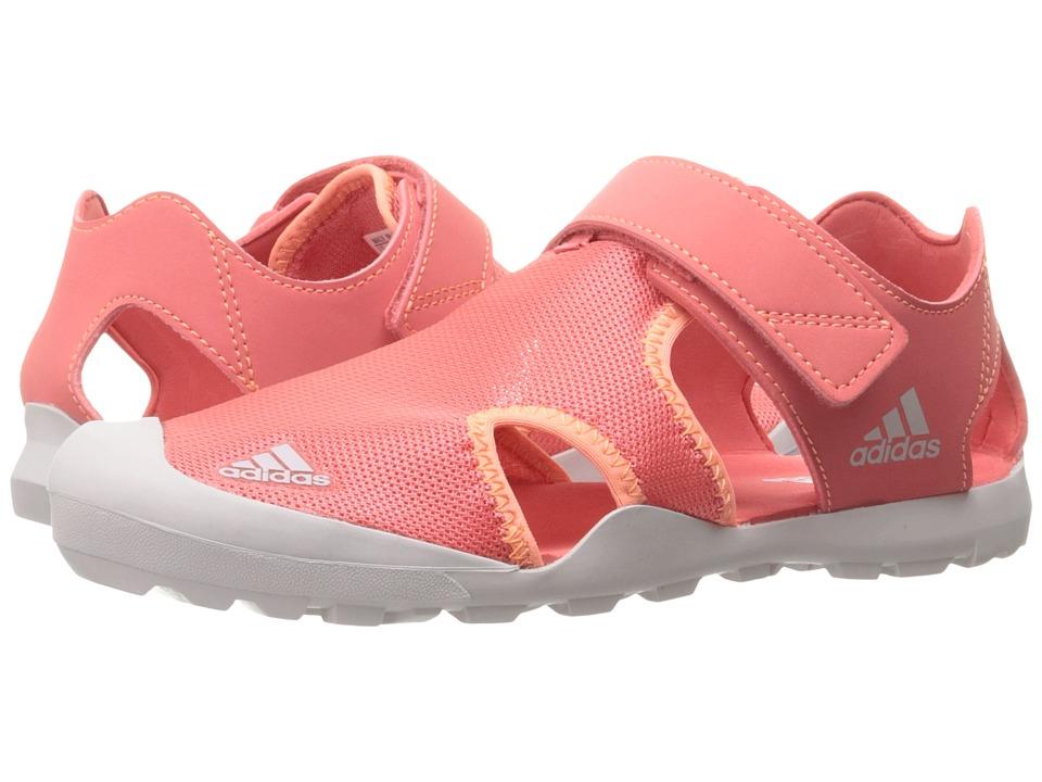 Image of adidas Outdoor Kids - Captain Toey (Toddler/Little Kid/Big Kid) (Tactile Pink/Ice Purple/Easy Orange) Girls Shoes