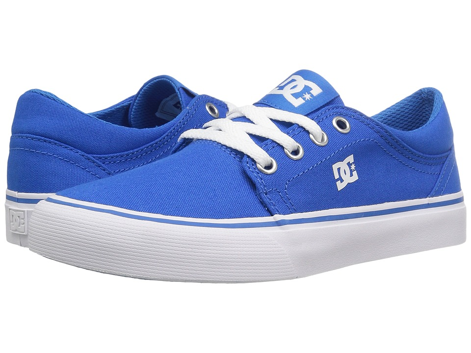 DC Kids - Trase TX (Little Kid/Big Kid) (Blue) Boys Shoes