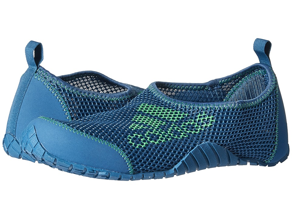 adidas Outdoor Kids - Kurobe (Toddler/Little Kid/Big Kid) (Core Blue/Core Blue/Energy Green) Kids Shoes