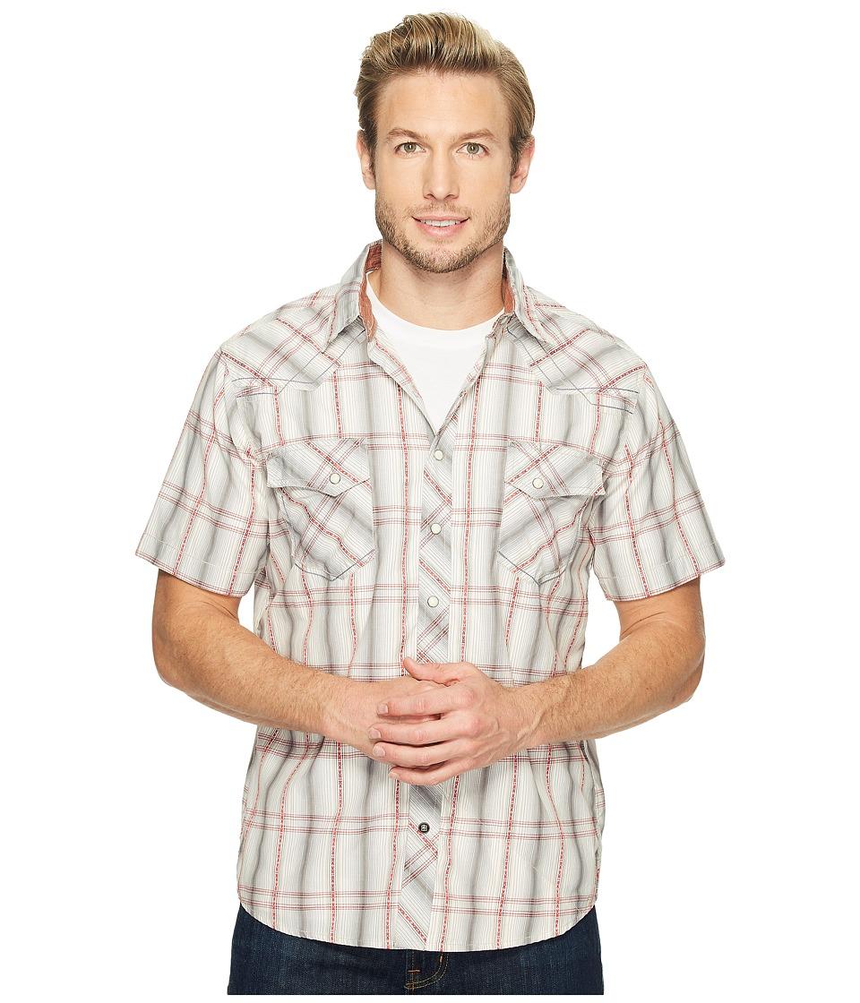 Ecoths - Waylon Short Sleeve Shirt (Griffin Grey) Men's Short Sleeve Button Up