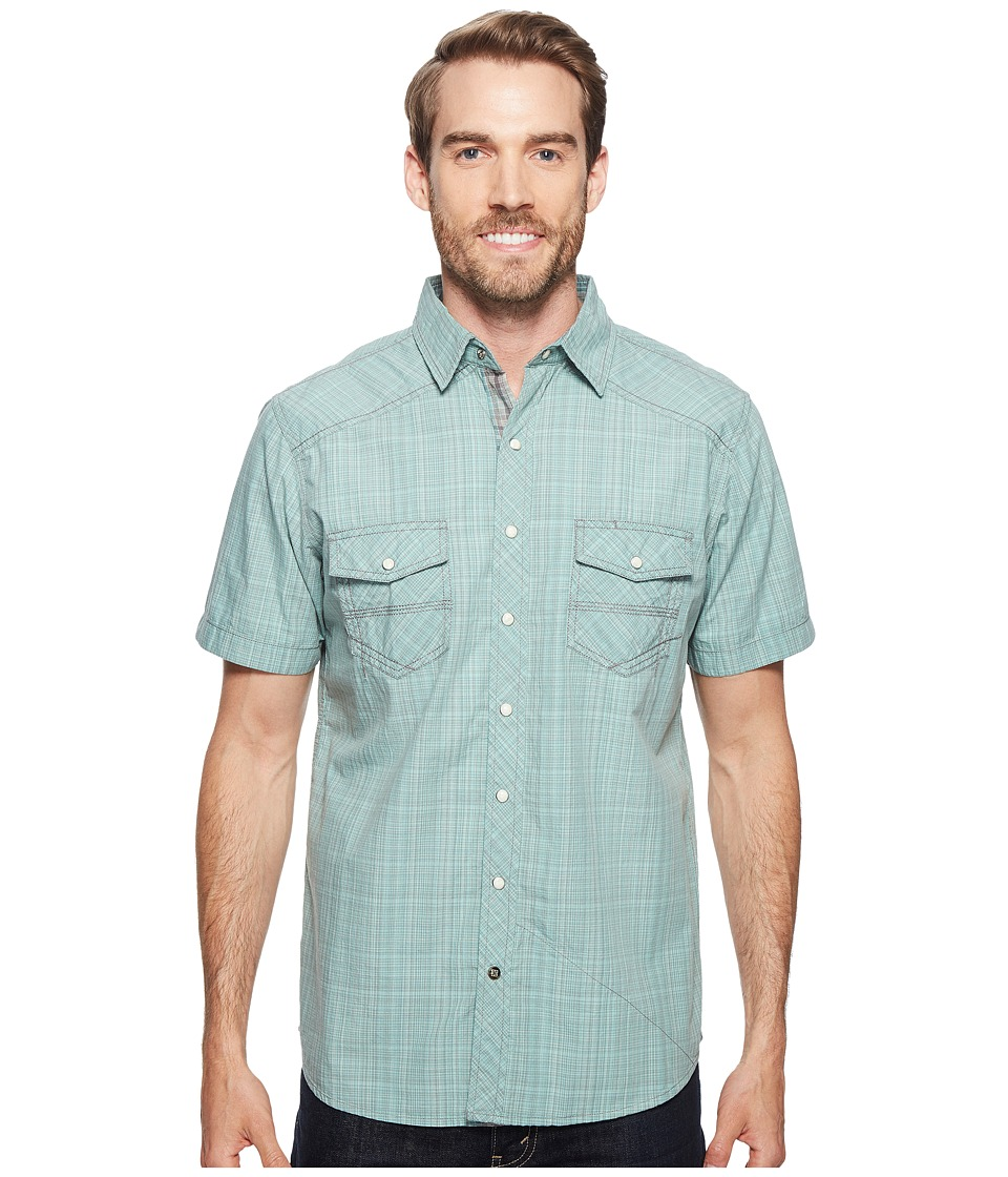 Ecoths - Somersett Short Sleeve Shirt (Wasabi) Men's Short Sleeve Button Up